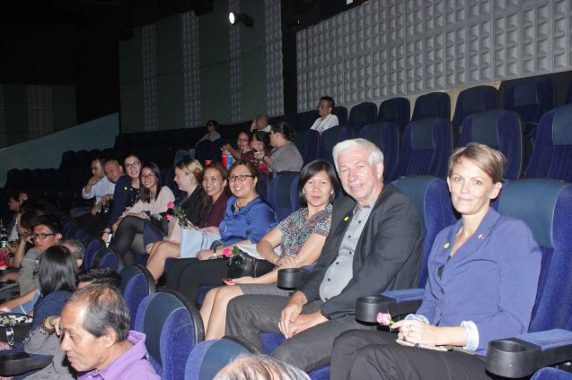 Danish Embassy contingent; Watch European films for free in Cine Europa 18 at Shang Cineplex, Shangri La Plaza Mall from September 10-20, 2015. Photo by Jude Bautista