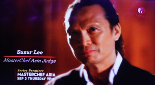 Superstar Chef Susur Lee is MCA Judge. MasterChef Asia visited URBN Bar & Kitchen 28th St, Bonifacio Global City, Taguig. Photo by Jude Bautista