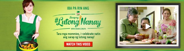 Check out Knorr products, special Filipino recipes, tips and videos here: Official site-http://www.knorr.com.ph/