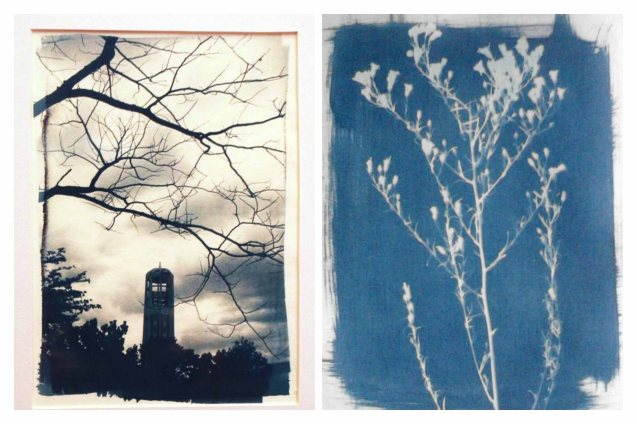From left: The Belfry, U.P. Diliman, 2015 and right: Angel's Breath. Chris Lucas' photo exhibit AGAINST THE FLOW will run from October 16-31 at the Kamuning Gallery & Café- No. 43 Judge Jimenez Street corner K- 1st Street, Kamuning, Quezon City. Photo from kalyepilipinas.tumblr.com