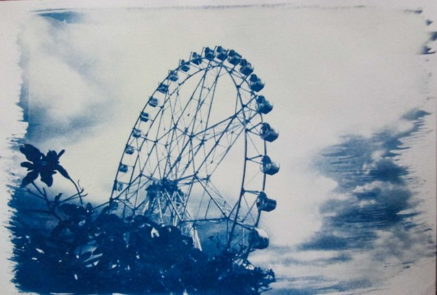 The Big Wheel; Chris Lucas' photo exhibit AGAINST THE FLOW will run from October 16-31 at the Kamuning Gallery & Café- No. 43 Judge Jimenez Street corner K- 1st Street, Kamuning, Quezon City. Photo from kalyepilipinas.tumblr.com