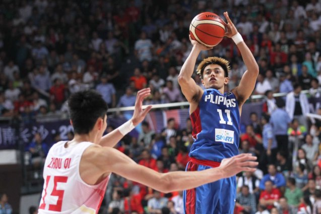 Terence Romeo; FIBA Asia Finals game PHI v CHINA October 3, 2015 at the Changsha Social Work College, Chang Sha, China. Photo from FIBA.com.