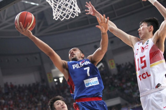 Jayson Castro is still the best guard in Asia; FIBA Asia Finals game PHI v CHINA October 3, 2015 at the Changsha Social Work College, Chang Sha, China. Photo from FIBA.com.