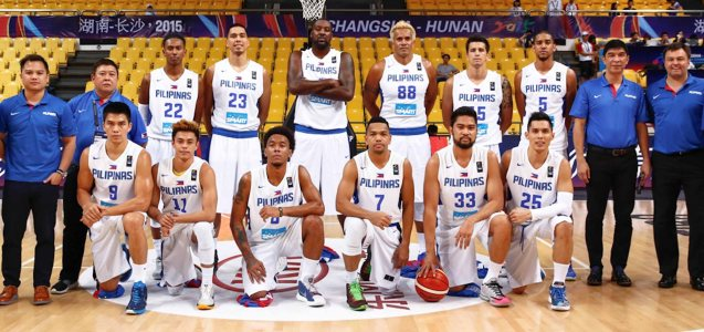 SMART Gilas Pilipinas can hold their heads up high earning Silver medal in spite of all the adversity; FIBA Asia Finals game PHI v CHINA October 3, 2015 at the Changsha Social Work College, Chang Sha, China. Photo from FIBA.com.