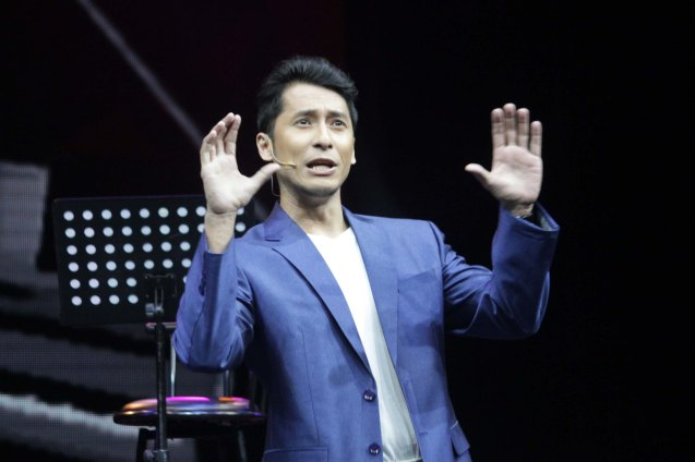 Jay Roa (Zosimo Blanco); BITUING WALANG NINGNING is running at the Newport Performing Arts Theater, Resorts World Manila from October 8, 2015 to January 2016. Photo by Jude Bautista