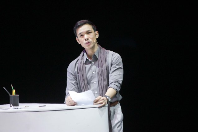 Mark Bautista (Nico Escobar); BITUING WALANG NINGNING is running at the Newport Performing Arts Theater, Resorts World Manila from October 8, 2015 to January 2016. Photo by Jude Bautista