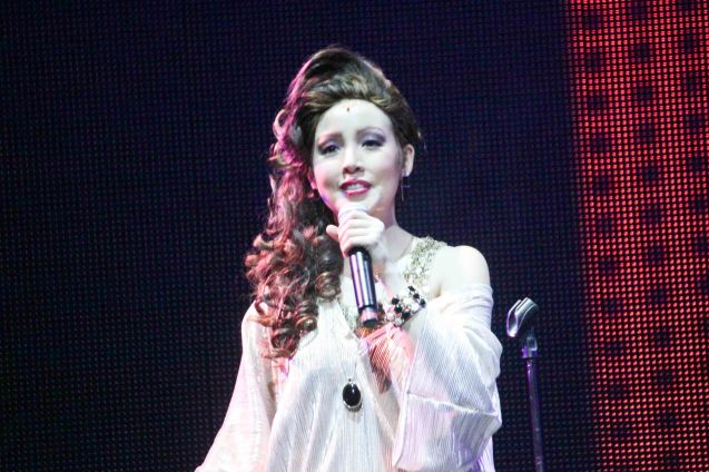 Cris Villonco (Lavinia Arguelles); BITUING WALANG NINGNING is running at the Newport Performing Arts Theater, Resorts World Manila from October 8, 2015 to January 2016. Photo by Jude Bautista