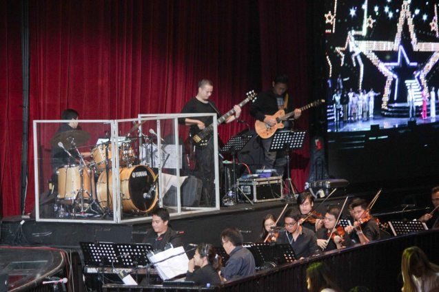 Manila Symphony Orchestra under the baton of Musical Director Rodel Colmenares. BITUING WALANG NINGNING is running at the Newport Performing Arts Theater, Resorts World Manila from October 8, 2015 to January 2016. Photo by Jude Bautista