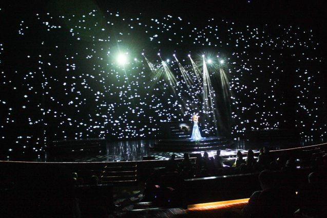 The largest LED screen in Asia has gotten even bigger with additional peripheral panels. BITUING WALANG NINGNING is running at the Newport Performing Arts Theater, Resorts World Manila from October 8, 2015 to January 2016. Photo by Jude Bautista