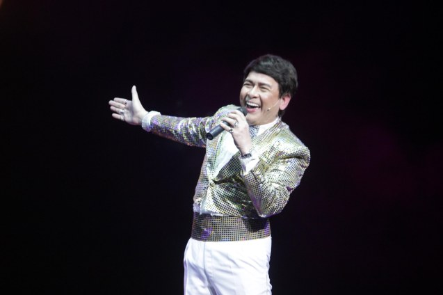 John Nite plays his uncle German Moreno. BITUING WALANG NINGNING is running at the Newport Performing Arts Theater, Resorts World Manila from October 8, 2015 to January 2016. Photo by Jude Bautista