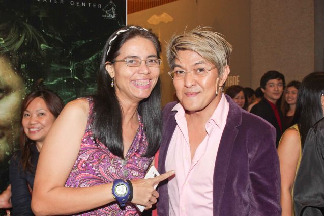 Mars Callo & Vince De Jesus; DEMENTED, DELIGHTFUL, DERANGED DE JESUS is part of the TRIPLE THREATS series. It was held last September 24, 2015 at the CCP's Tanghalang Aurelio Tolentino. Photo by Jude Bautista
