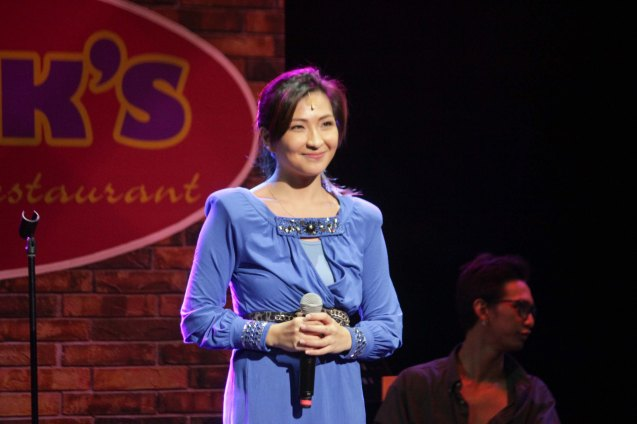 Monica Cuenco (Dorina Pineda); BITUING WALANG NINGNING is running at the Newport Performing Arts Theater, Resorts World Manila from October 8, 2015 to January 2016. Photo by Jude Bautista