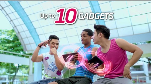 L.A. Laker Jordan Clarkson was almost a Gilas player; he shot a SMART BRO TVC ad recently.