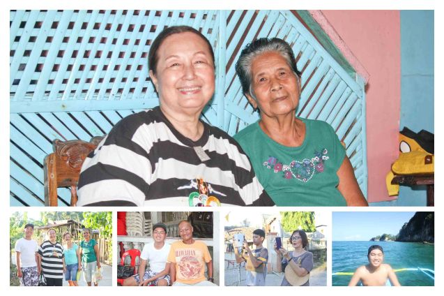top pic from left: Linda Bautista & Elenita Arce; Claveria, Burias-May 18, 2015. Photo by Jude Bautista