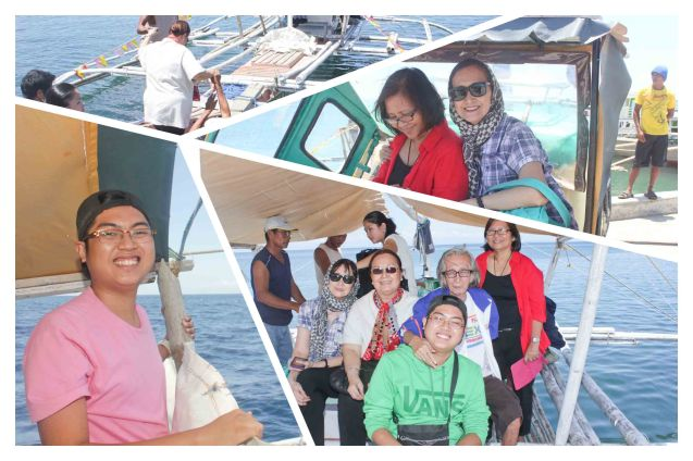 Crossing the waters to Burias Island from the port of Pio Duran- May 17, 2015. Photo by Jude Bautista