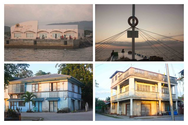 top left: infrastructure improvements include a new port, bottom pics: some familiar old houses from my childhood are still there in Claveria Burias-May 20, 2015. Photo by Jude Bautista