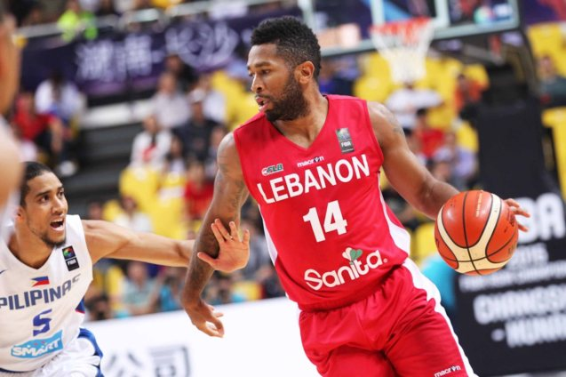 Youngblood is Lebanon's premiere point guard. SMART GILAS Pilipinas won against Lebanon 82-70, October 1, 2015 at the Changsha Social Work College, Chang Sha, China. Photo from FIBA.com.