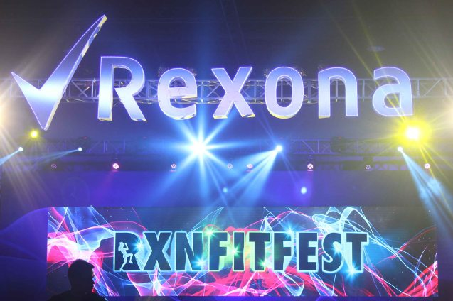 Participants could win prizes for posting their pics with the hashtag -#RXNFITFEST. RXN FIT FEST was held at the SMX Convention Center last Nov 14, 2015. Photo by Jude Bautista