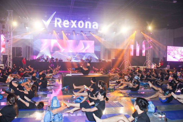 The First event of its kind RXN Fit Fest was very well attended. RXN FIT FEST was held at the SMX Convention Center last Nov 14, 2015. Photo by Jude Bautista