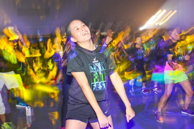 RXN FIT FEST is the most fun you'll ever have working out. RXN FIT FEST was held at the SMX Convention Center last Nov 14, 2015. Photo by Jude Bautista