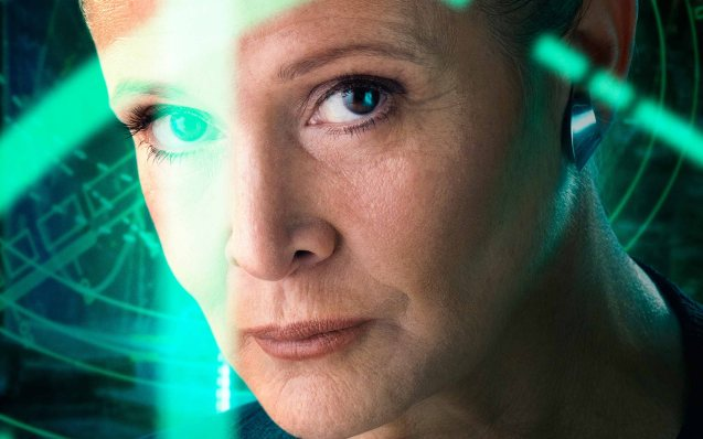 Carrie Fisher (Princess Leia) is now General Leia; Catch STAR WARS: THE FORCE AWAKENS in Newport Cinemas-Resort's World Manila, EASTWOOD City Mall, Lucky China Town Mall and Shang Rila Plaza mall.