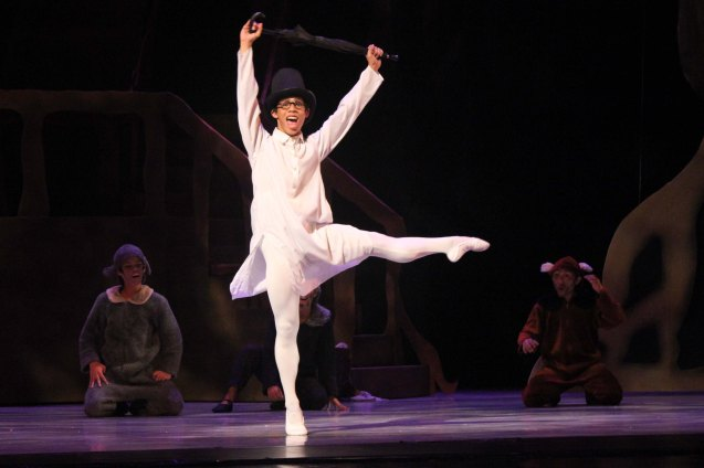 Victor Maguad (John); Ballet Philippines' Peter Pan runs from December 4-13, 2015 at the Tanghalang Nicanor Abelardo of the CCP. Photo by Jude Bautista