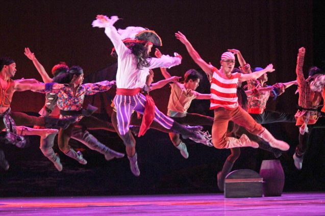 Pirates- Ballet is the perfect medium for Peter Pan; Ballet Philippines' Peter Pan runs from December 4-13, 2015 at the Tanghalang Nicanor Abelardo of the CCP. Photo by Jude Bautista
