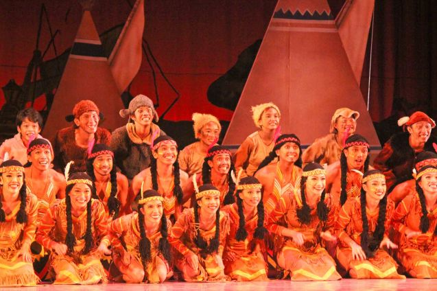 Indians & the Lost Boys; Ballet Philippines' Peter Pan runs from December 4-13, 2015 at the Tanghalang Nicanor Abelardo of the CCP. Photo by Jude Bautista