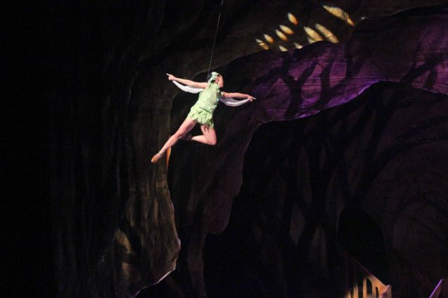 Janine Myrtel Arisola (Tinkerbell); Ballet Philippines' Peter Pan runs from December 4-13, 2015 at the Tanghalang Nicanor Abelardo of the CCP. Photo by Jude Bautista