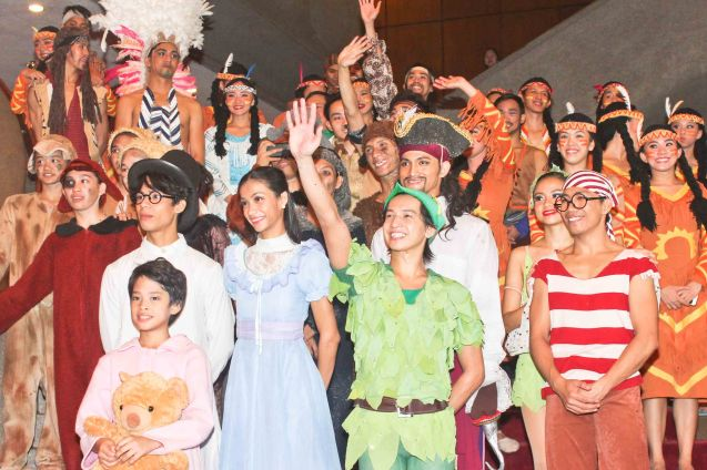 Kids went crazy when they had the chance to meet the cast after the show. Ballet Philippines' Peter Pan runs from December 4-13, 2015 at the Tanghalang Nicanor Abelardo of the CCP. Photo by Jude Bautista