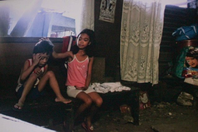 from left: Ray An Reel Dulay (Bunso) & Psyche Margaux (Ningning); TURO TURO is part of the MMFF New Wave competition showing from Dec 18-24, 2015.