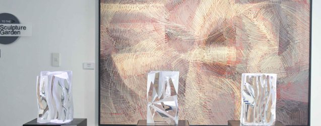CLEAR IMPRESSIONS: AN EXHIBIT OF RECENT CLEAR OPTICAL GLASS runs at the Reflections Gallery, Museo Orlina from November 30, 2015 to January 16, 2016. Contributed photo.