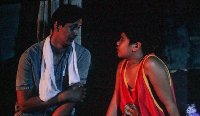 from left: AJ Dee (Maryo) & Albert Silos (Nilo); TURO TURO is part of the MMFF New Wave competition showing from Dec 18-24, 2015.