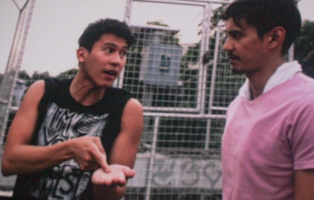 from left: Enchong Dee (Andong) & AJ Dee (Maryo); TURO TURO is part of the MMFF New Wave competition showing from Dec 18-24, 2015.