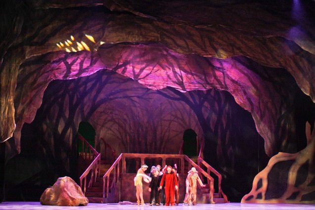 The Lost Boys in Neverland- production design by National Artist for Theater Salvador Bernal. Ballet Philippines' Peter Pan runs from December 4-13, 2015 at the Tanghalang Nicanor Abelardo of the CCP. Photo by Jude Bautista