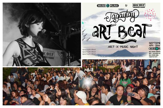 Tagaytay Art Beat tickets were sold out and the amphitheater was filled to capacity. The first ever Tagaytay Art Beat held at Museo Orlina last September 19, 2015. Contributed photo