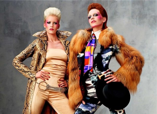 Bowie's style over the past decades has been honored by designers and can be seen in countless catwalks from around the world.