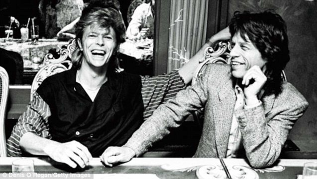 David Bowie & Mick Jagger, were rumored to have an affair