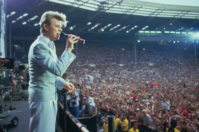 Bowie dressed to kill at LIVE AID 1985