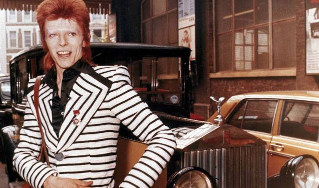 Bowie as Ziggy Stardust