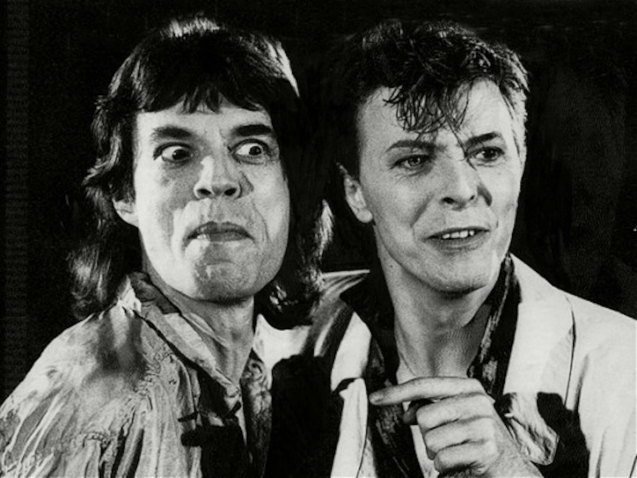David Bowie & Mick Jagger, were rumored to have an affair.
