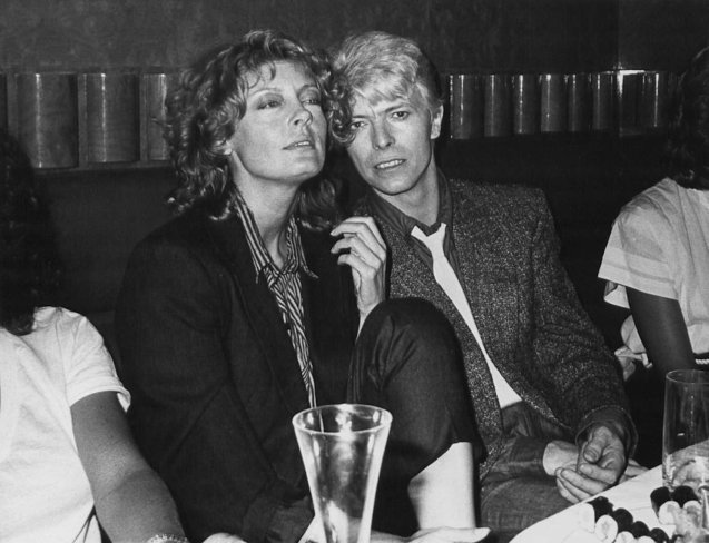 Bowie had a 3 year affair with Susan Sarandon after co starring with her in THE HUNGER (1983)