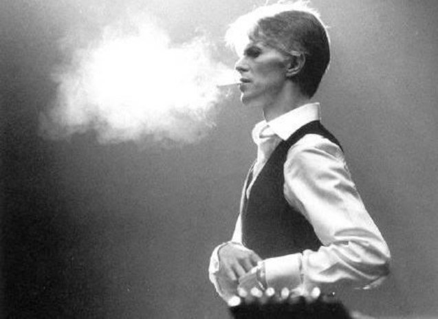 Bowie as the Thin White Duke
