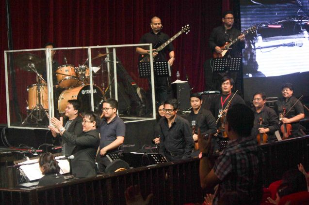 Manila Symphony Orchestra under the baton of Musical Director Rodel Colmenares. BITUING WALANG NINGNING is running at the Newport Performing Arts Theater, Resorts World Manila until January 31, 2016. Photo by Jude Bautista