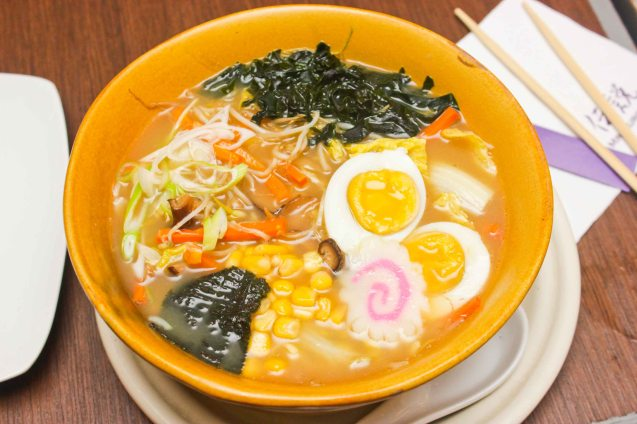 I had a perfect vegetable ramen at Mr. Kurosawa in the Newport Plaza Mall. BITUING WALANG NINGNING is running at the Newport Performing Arts Theater, Resorts World Manila until January 31, 2016. Photo by Jude Bautista