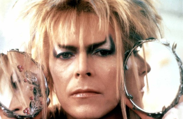Bowie's Jareth The Goblin King in Labyrinth was based on the idealized fantasy version of a pop star.Bowie's Jareth The Goblin King in Labyrinth was based on the idealized fantasy version of a pop star.