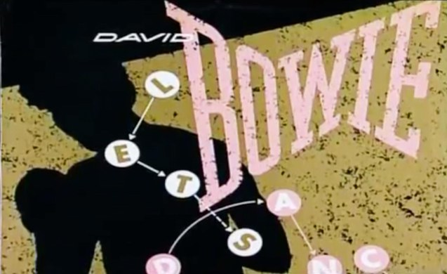 Bowie's Let's Dance single was his first worldwide hit (1982).