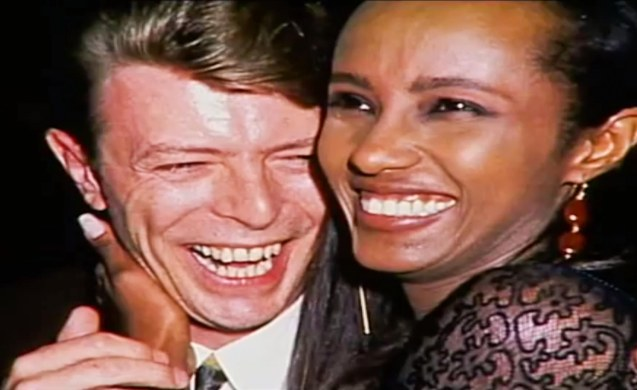 "Bowie and Iman- ""You would think that a rock star being married to a supermodel would be one of the greatest things in the world. It is."" The quote is from Conan O'Brien's skit, but aptly describes their relationship."