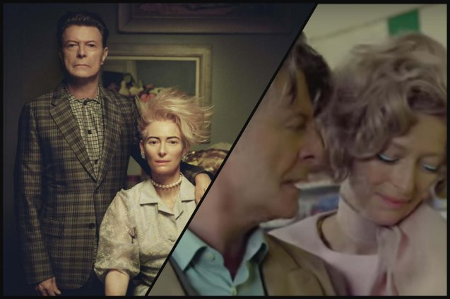 Tilda Swinton was cast in David Bowie's music video The Stars Are Out Tonight (2013