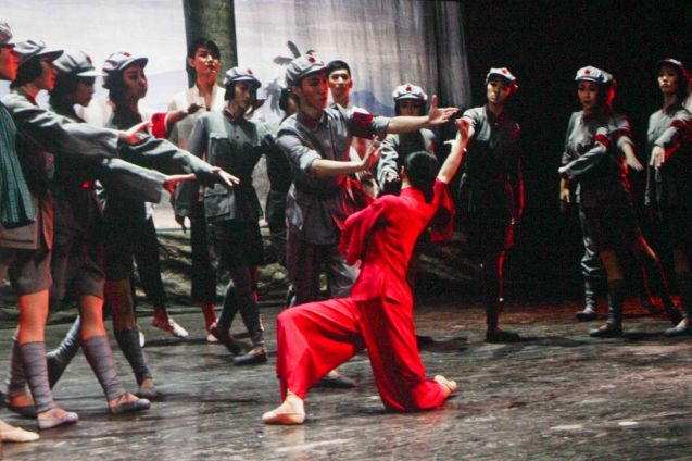 Ballet performance entitled The Red Detachment of Women; Watch COMING HOME for free during the 10th Spring Film Festival at the Shang Cineplex, Shang Rila Plaza Mall from January 29-February 7, 2016.